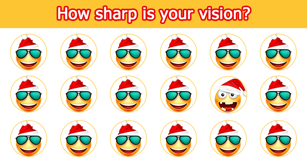 How sharp is your vision?
