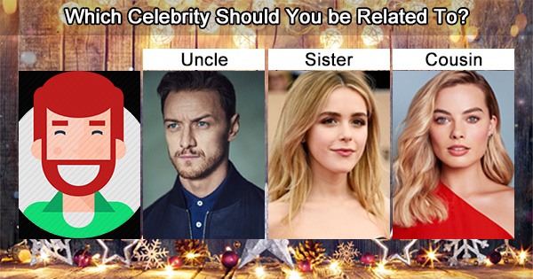 Which Celebrity Should You be Related To?