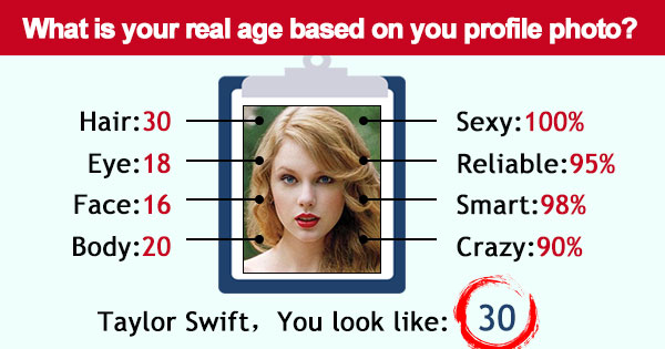 What is your real age based on you profile photo?