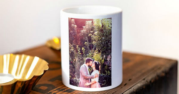 Your photo on the mug!