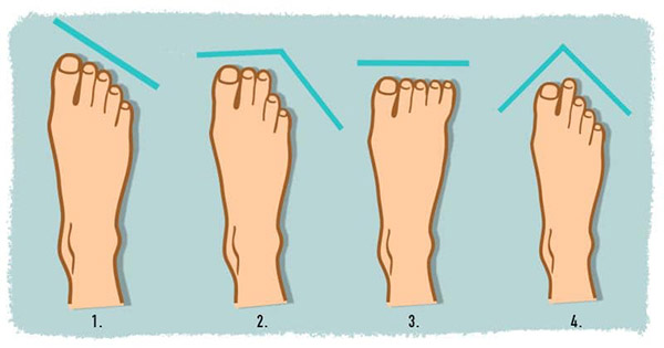 What Does Your Foot Shape Reveal About You?