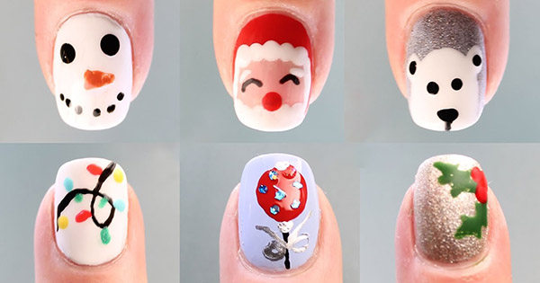 What Christmas Nail Style Suits You Best?
